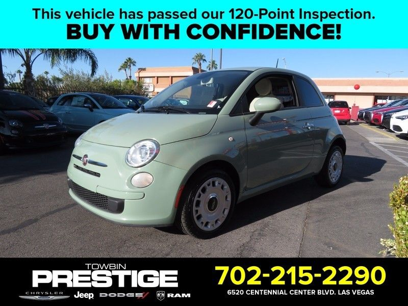 2013 Fiat 500 2dr Hatchback Pop - 16895886 - 0