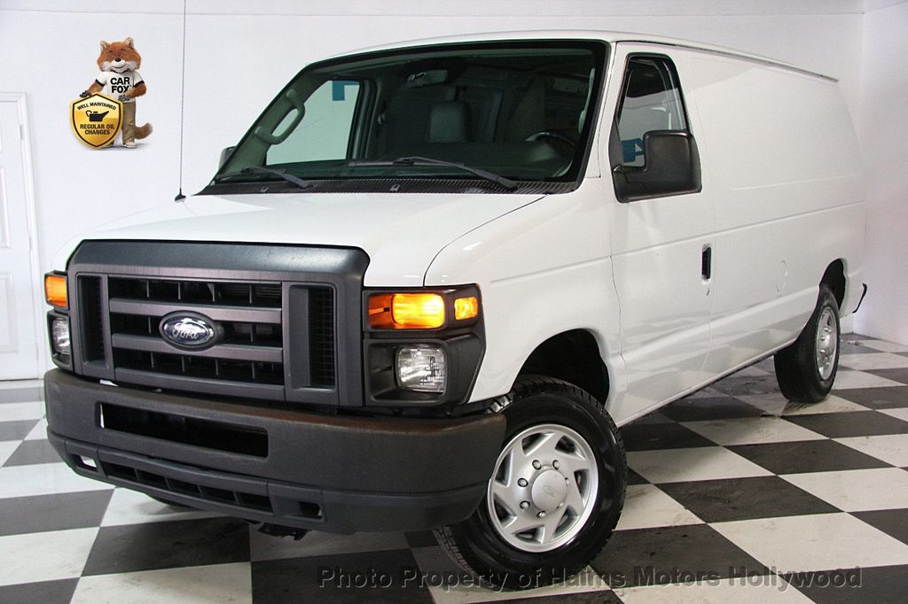 2013 Used Ford Econoline Cargo Van E 150 Commercial At
