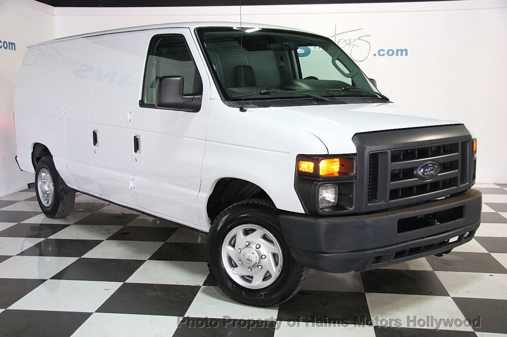 Ford Dealership Fort Lauderdale >> 2013 Used Ford Econoline Cargo Van E-150 Commercial at Haims Motors Serving Fort Lauderdale ...