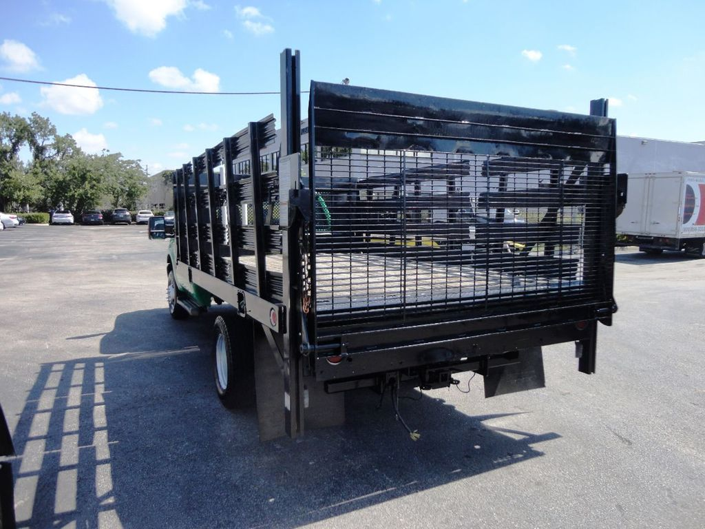 2013 Ford F350 4X4.12FT FLATBED STAKE BED WITH LIFTGATE..STAKE TRUCK. - 18965309 - 5