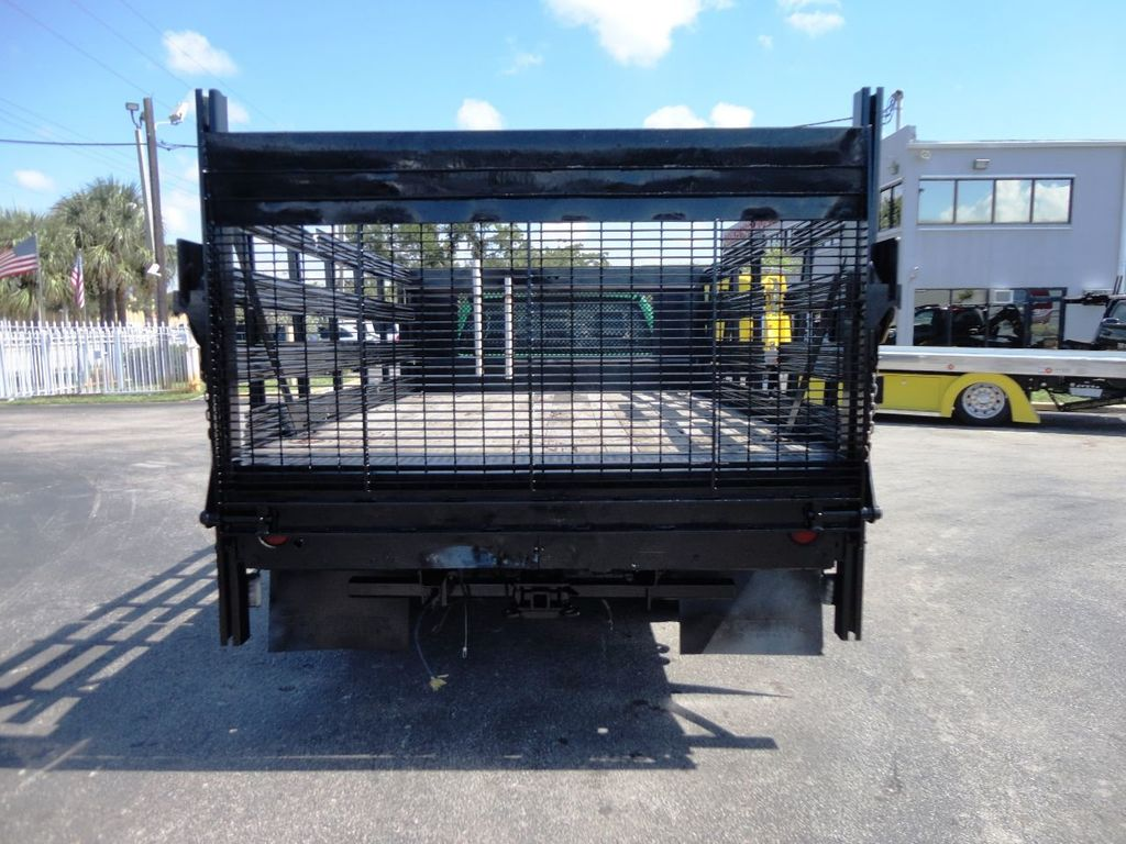 2013 Ford F350 4X4.12FT FLATBED STAKE BED WITH LIFTGATE..STAKE TRUCK. - 18965309 - 6