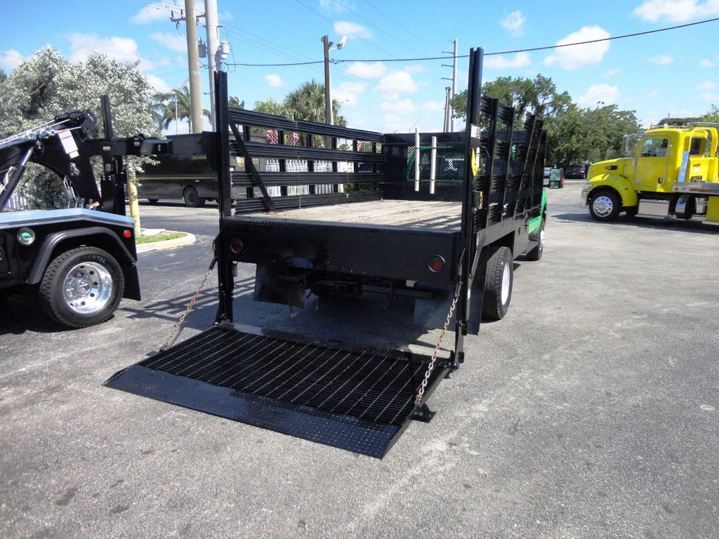 2013 Ford F350 4X4.12FT FLATBED STAKE BED WITH LIFTGATE..STAKE TRUCK. - 18965309 - 8