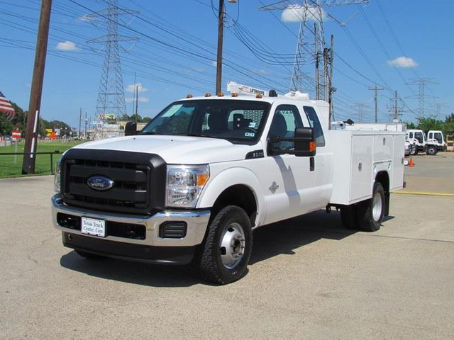 2013 Ford F350 Mechanics Service Truck 4x4 - 11921427 - 4