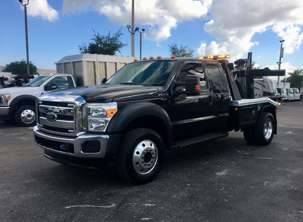 2013 Ford F550 MPL40 WRECKER TOW TRUCK JERR-DAN. 4X2 EXENTED CAB - 18374761 - 0