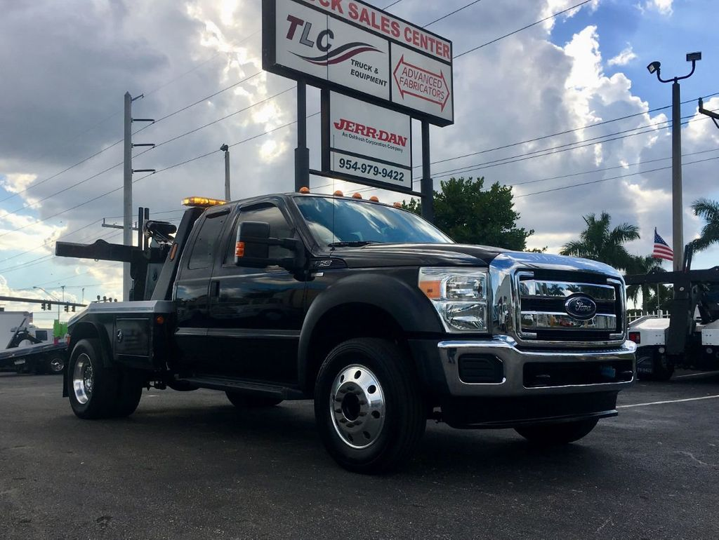 2013 Ford F550 MPL40 WRECKER TOW TRUCK JERR-DAN. 4X2 EXENTED CAB - 18374761 - 1