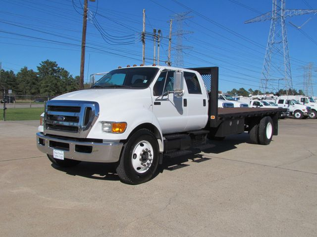 2013 Ford F650 Flatbed - 15424303 - 2