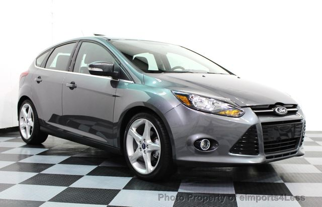 2013 used ford focus certified focus titanium hatchback 5 speed navi at eimports4less serving. Black Bedroom Furniture Sets. Home Design Ideas