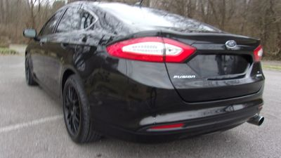 2013 Ford Fusion 4dr Sedan S FWD - Click to see full-size photo viewer