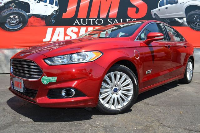 2013 Used Ford Fusion Energi Ford Fusion Energi Plug In Hybrid Titanium Navigation At Jim S Auto Sales Serving Harbor City Ca Iid 19214937