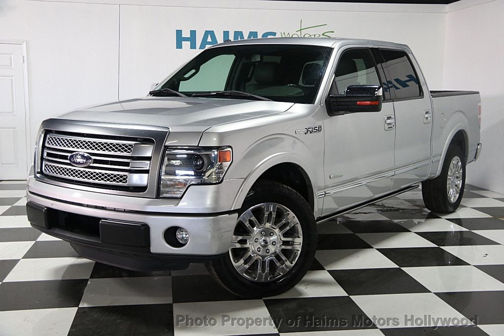 2013 used ford f 150 2wd supercrew 145 platinum at haims motors hollywood serving fort. Black Bedroom Furniture Sets. Home Design Ideas
