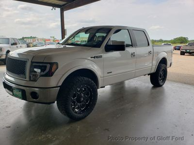 "2013 Ford F-150 2WD SuperCrew 157"" Lariat w/HD Payload Pkg Truck"