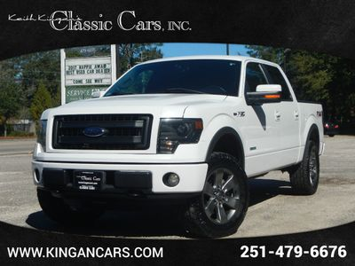 "2013 Ford F-150 4WD SuperCrew 145"" FX4 Truck"