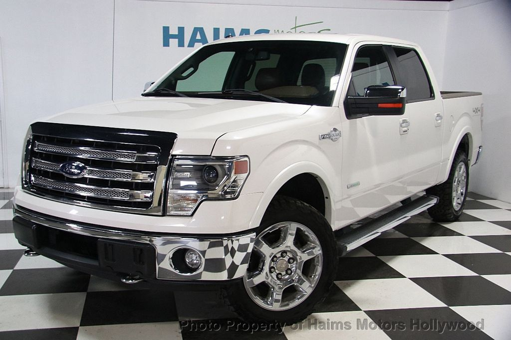 """2013 Used Ford F-150 4WD SuperCrew 145"""" King Ranch at ..."""