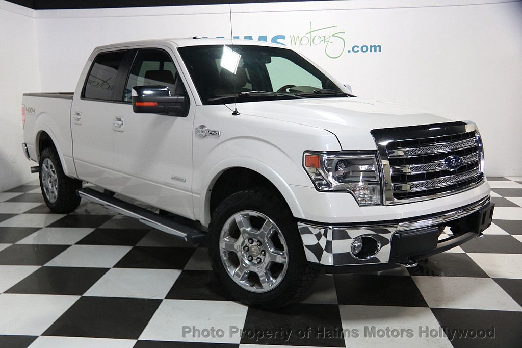 2013 used ford f 150 4wd supercrew 145 king ranch at haims motors serving fort lauderdale. Black Bedroom Furniture Sets. Home Design Ideas