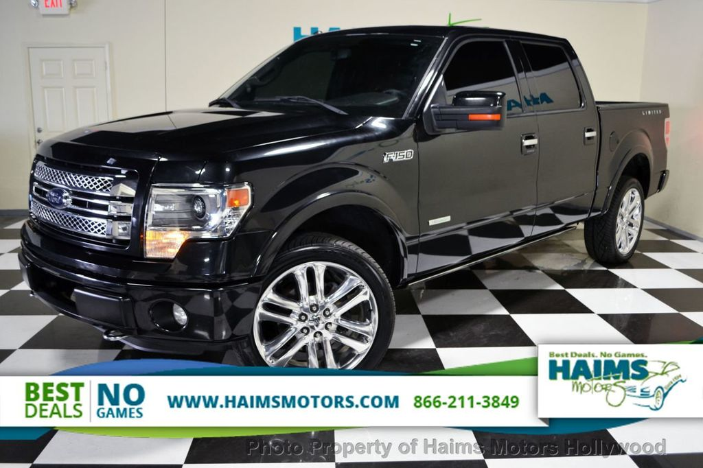 2013 used ford f 150 4wd supercrew 145 limited at haims motors serving fort lauderdale. Black Bedroom Furniture Sets. Home Design Ideas