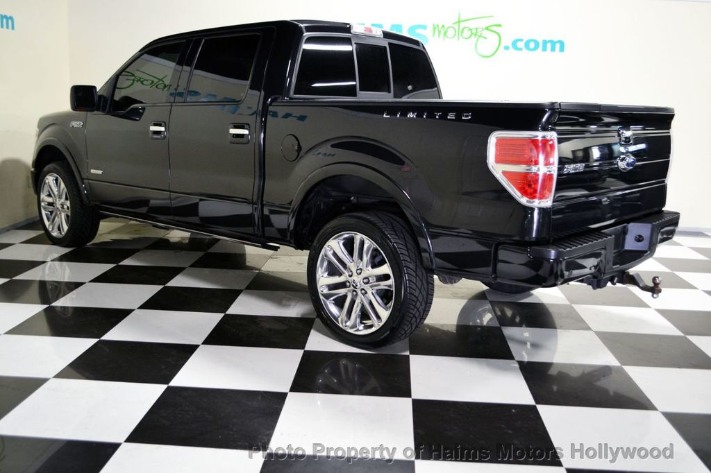 """2013 Used Ford F-150 4WD SuperCrew 145"""" Limited at Haims Motors Serving Fort Lauderdale ..."""