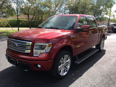 "2013 Ford F-150 4WD SuperCrew 145"" Limited Truck"