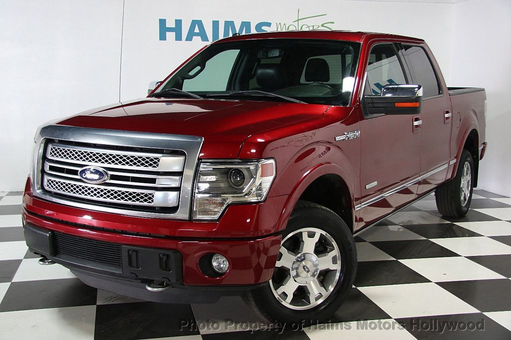 "2013 Ford F-150 4WD SuperCrew 145"" Platinum - 16436761 - 0"