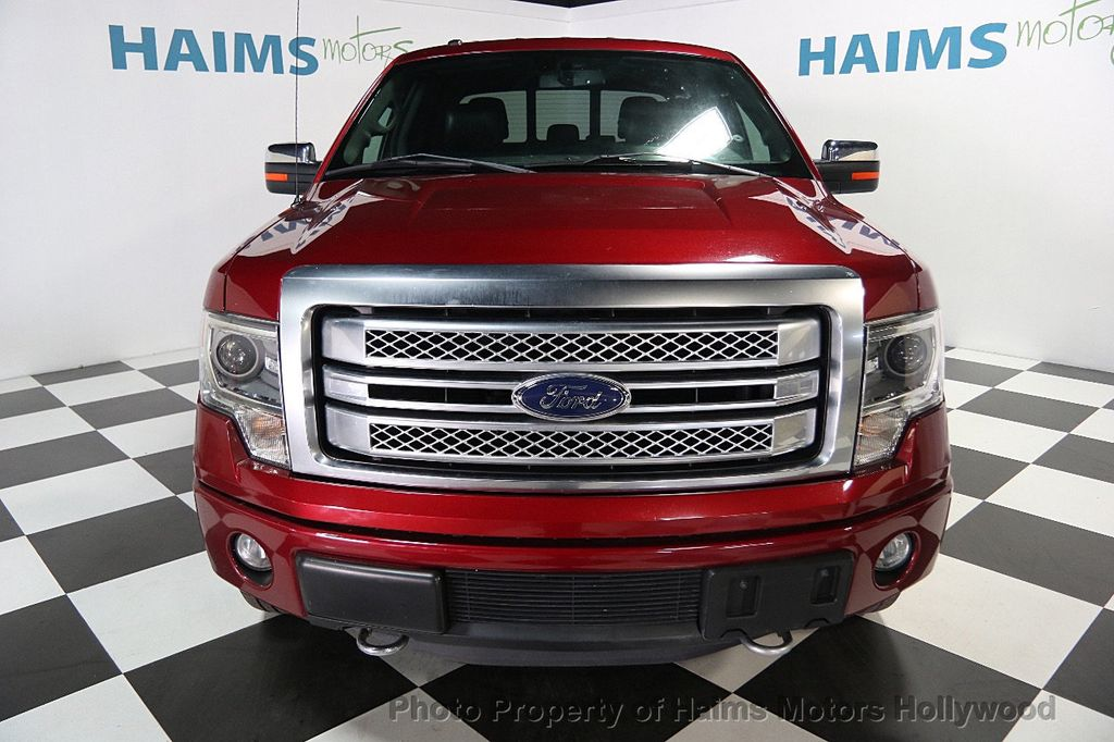 "2013 Ford F-150 4WD SuperCrew 145"" Platinum - 16436761 - 1"