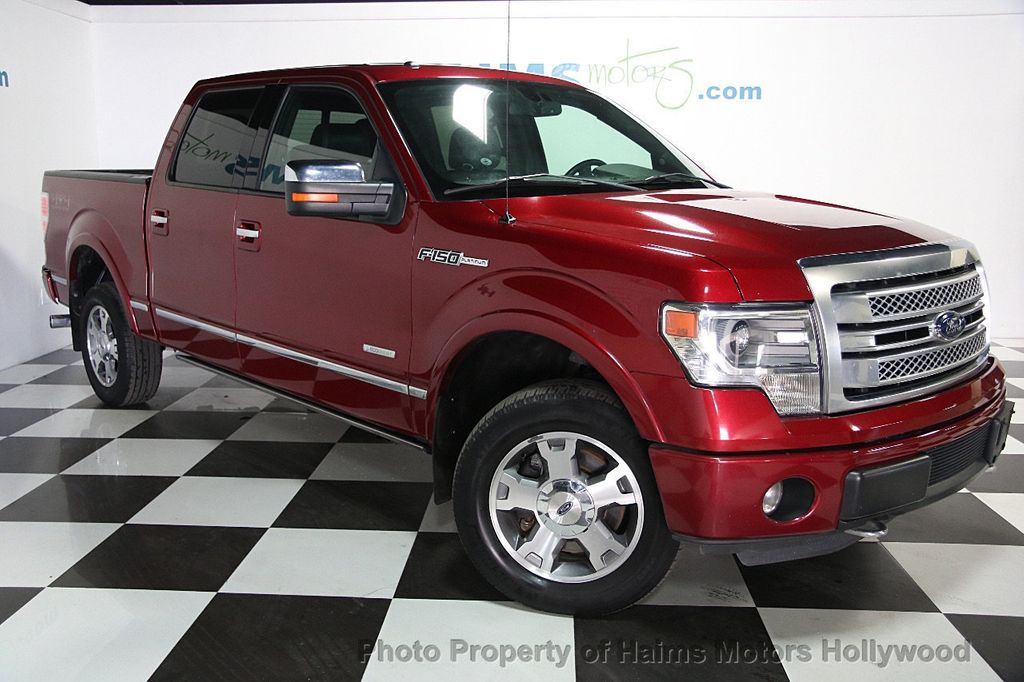 "2013 Ford F-150 4WD SuperCrew 145"" Platinum - 16436761 - 2"