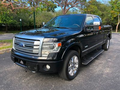 "2013 Ford F-150 4WD SuperCrew 145"" Platinum Truck"