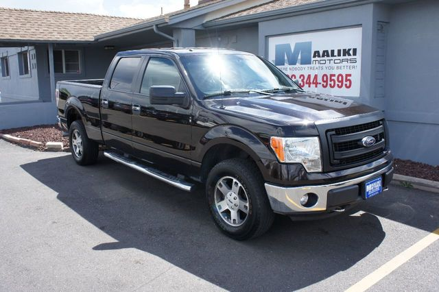 "2013 Ford F-150 4WD SuperCrew 145"" XLT - 17802531"