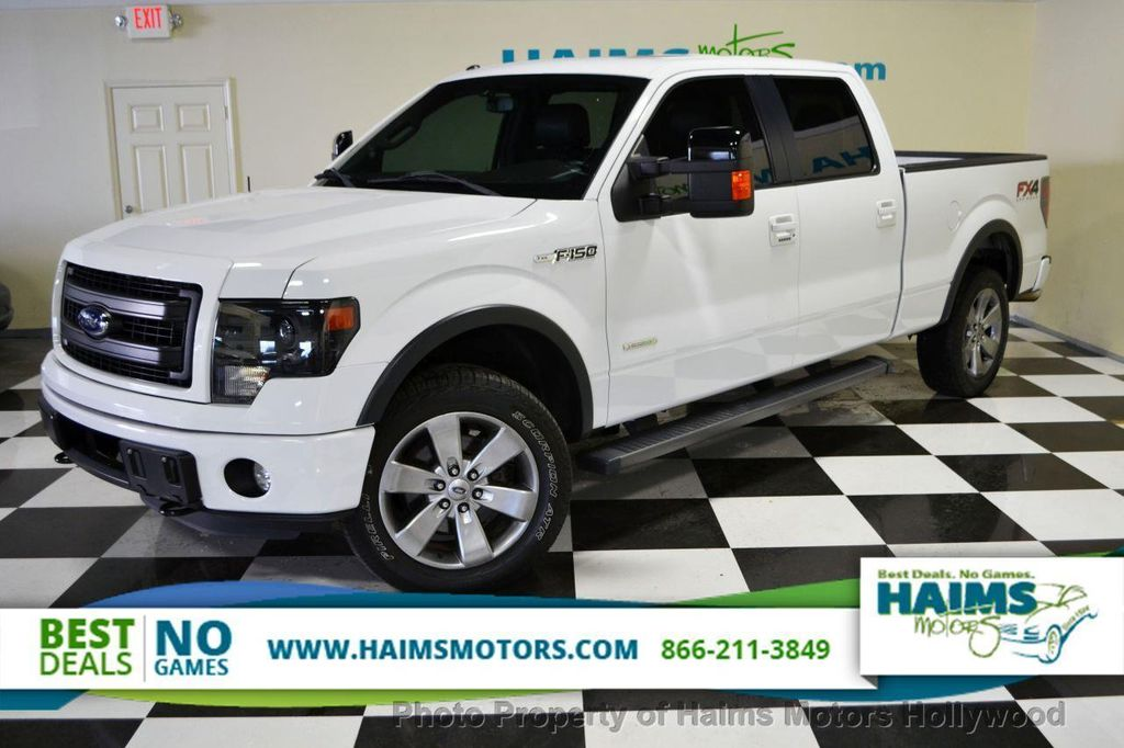 2013 used ford f 150 4wd supercrew 157 fx4 at haims motors serving fort lauderdale hollywood. Black Bedroom Furniture Sets. Home Design Ideas