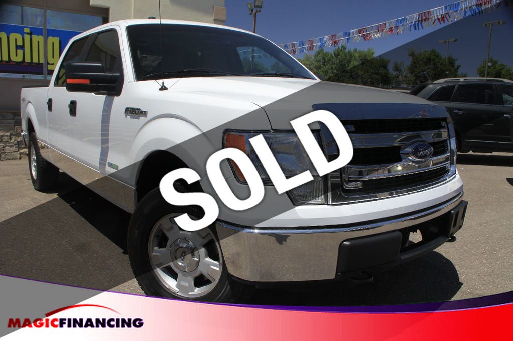 2013 Used Ford F 150 4x4 Xlt Ecoboost At Magic Financing Serving Denver Co Iid 15269706