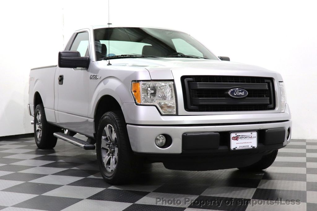 2013 Ford F-150 CERTIFIED F-150 STX TONNEAU COVER RUNNING BOARDS TOW HITCH - 18373064 - 12