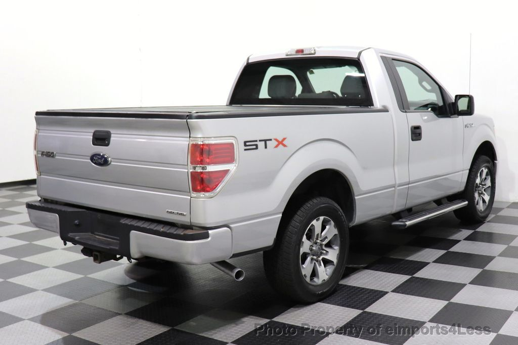 2013 Ford F-150 CERTIFIED F-150 STX TONNEAU COVER RUNNING BOARDS TOW HITCH - 18373064 - 15