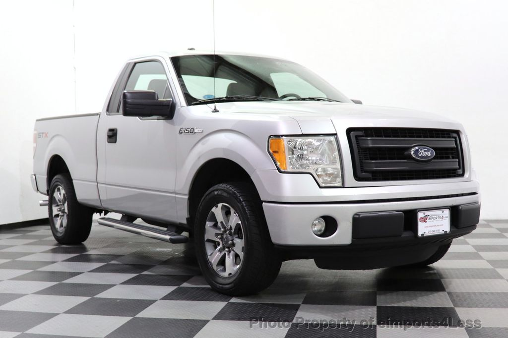 2013 Ford F-150 CERTIFIED F-150 STX TONNEAU COVER RUNNING BOARDS TOW HITCH - 18373064 - 1