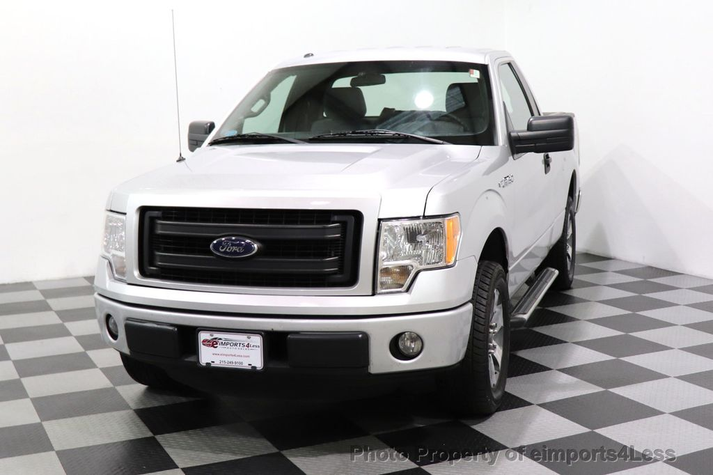 2013 Ford F-150 CERTIFIED F-150 STX TONNEAU COVER RUNNING BOARDS TOW HITCH - 18373064 - 24