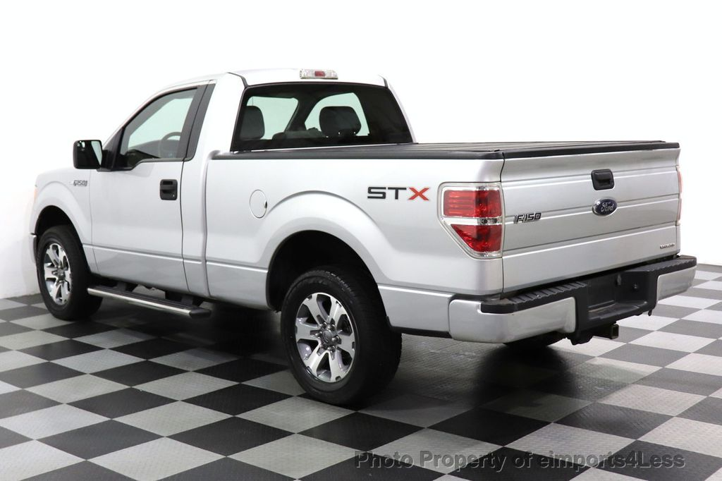 2013 Ford F-150 CERTIFIED F-150 STX TONNEAU COVER RUNNING BOARDS TOW HITCH - 18373064 - 26