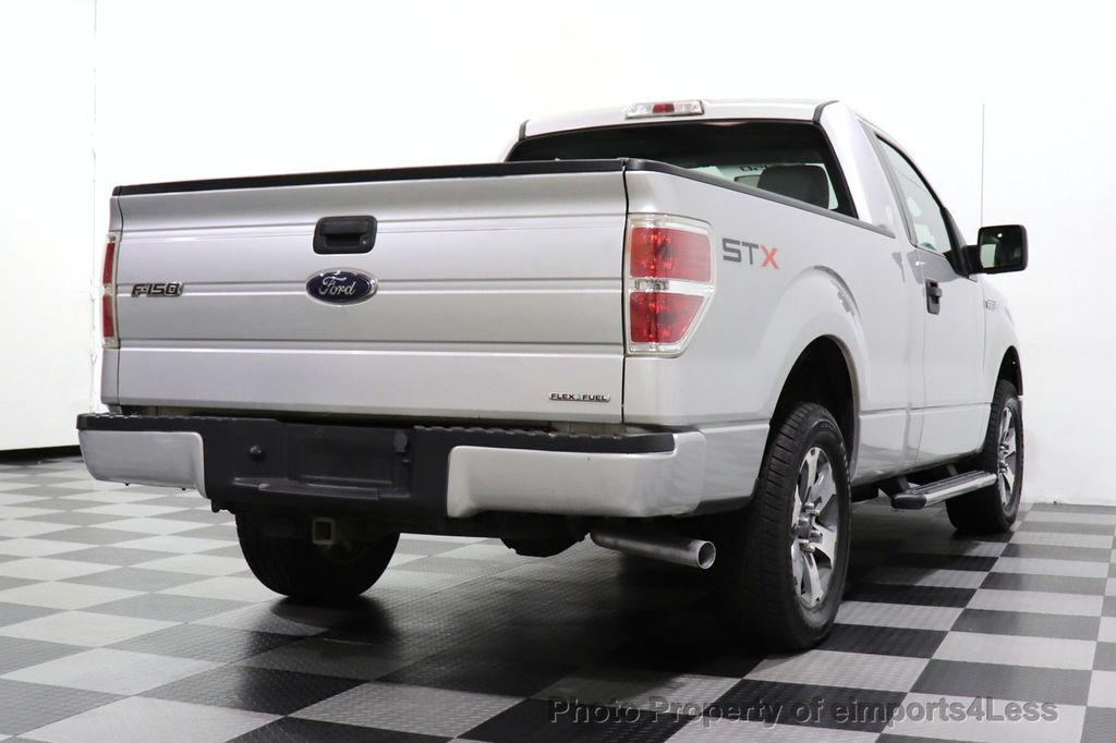2013 Ford F-150 CERTIFIED F-150 STX TONNEAU COVER RUNNING BOARDS TOW HITCH - 18373064 - 28