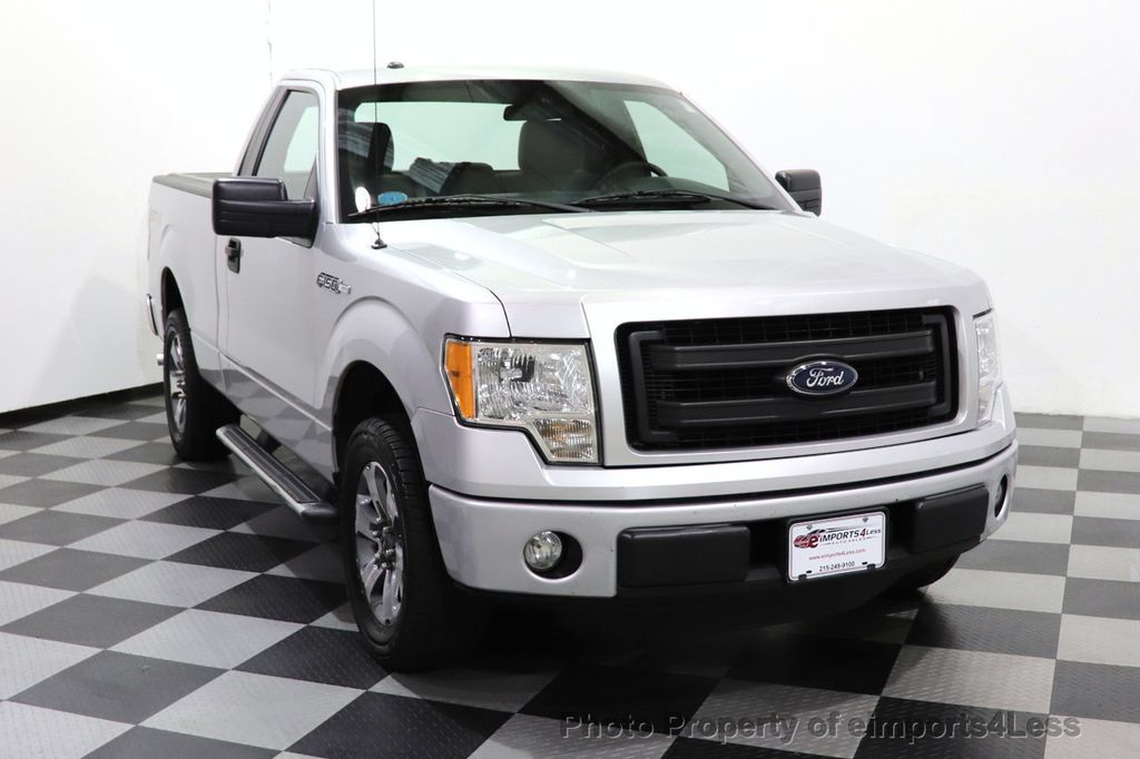 2013 Ford F-150 CERTIFIED F-150 STX TONNEAU COVER RUNNING BOARDS TOW HITCH - 18373064 - 39