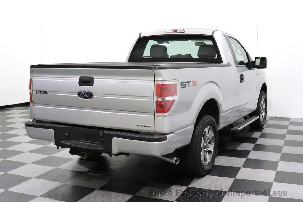 2013 Ford F-150 CERTIFIED F-150 STX TONNEAU COVER RUNNING BOARDS TOW HITCH - 18373064 - 41