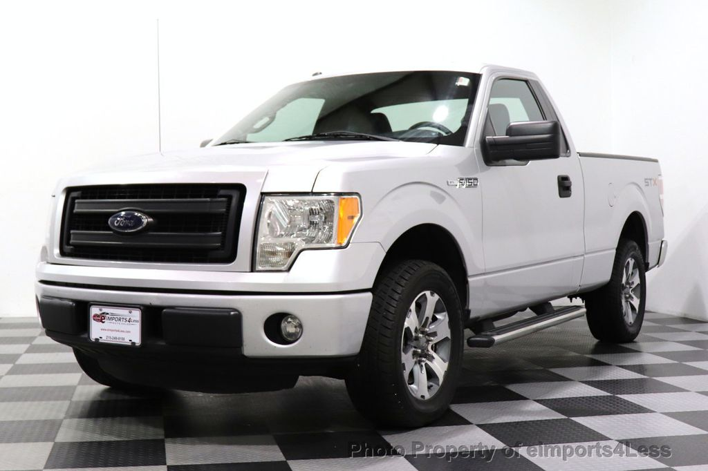 2013 Ford F-150 CERTIFIED F-150 STX TONNEAU COVER RUNNING BOARDS TOW HITCH - 18373064 - 44