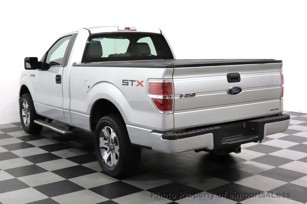 2013 Ford F-150 CERTIFIED F-150 STX TONNEAU COVER RUNNING BOARDS TOW HITCH - 18373064 - 45