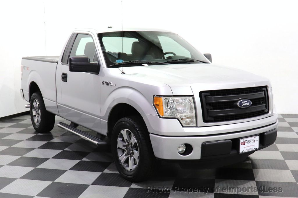2013 Ford F-150 CERTIFIED F-150 STX TONNEAU COVER RUNNING BOARDS TOW HITCH - 18373064 - 47