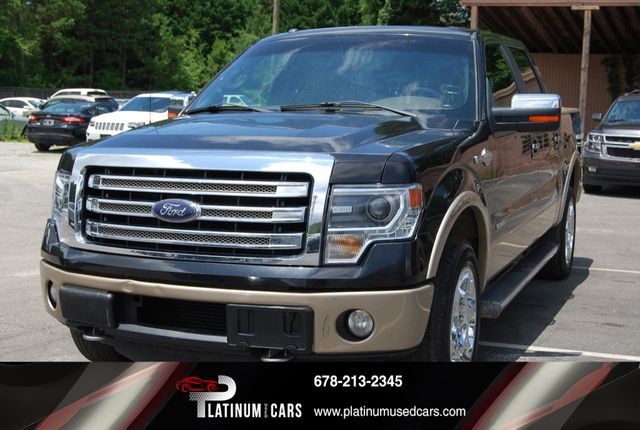 Ford F-150 King Ranch >> 2013 Used Ford F 150 King Ranch At Platinum Used Cars Serving Alpharetta Ga Iid 19035052