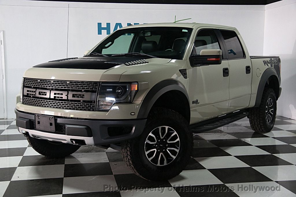 2013 Used Ford F-150 SVT Raptor at Haims Motors Ft ...