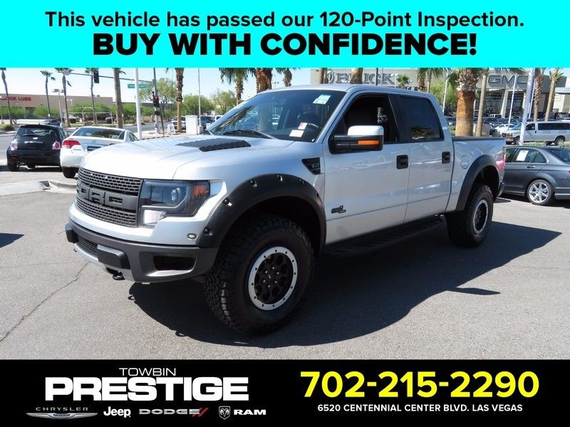 2013 Ford F-150 SVT RAPTOR 4X4 - 16730612 - 0