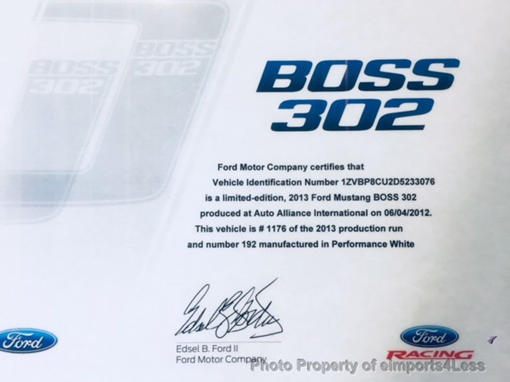 2013 Ford Mustang CERTIFIED MUSTANG BOSS 302 - 17048698 - 11