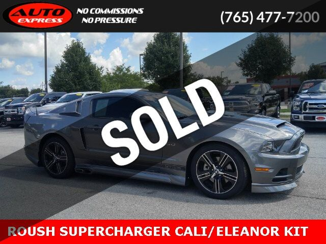 Mustang Gt Supercharger >> 2013 Used Ford Mustang Gt Roush Supercharger Cali Special Edition Cervini Eleanor Kit At Auto Express Lafayette In Iid 19273777