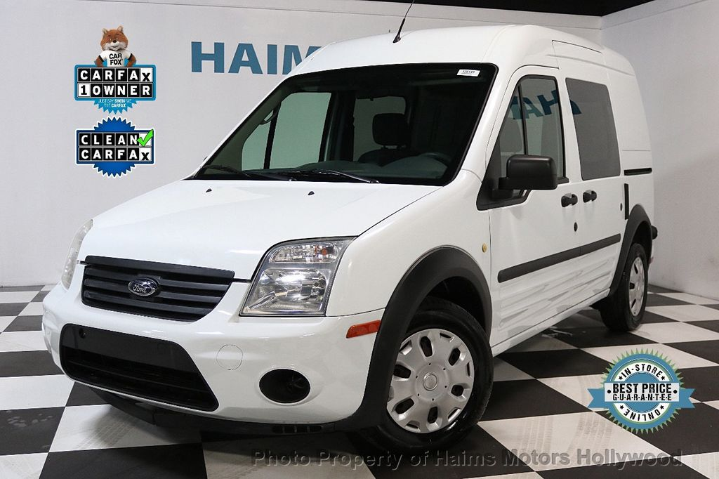 "2013 Ford Transit Connect 114.6"" XLT w/side & rear door privacy glass - 17749127 - 0"
