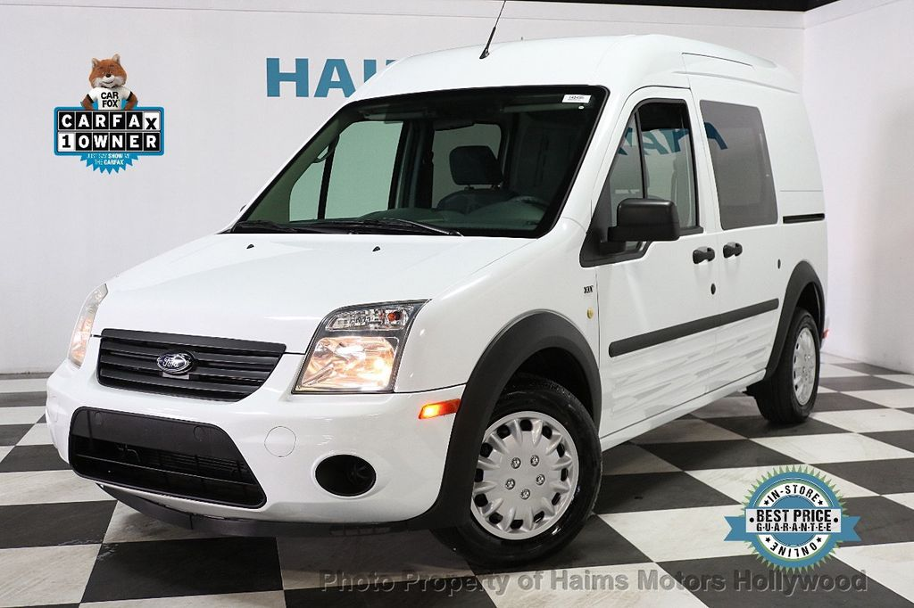 """2013 Ford Transit Connect 114.6"""" XLT w/side & rear door privacy glass - 17802206 - 0"""