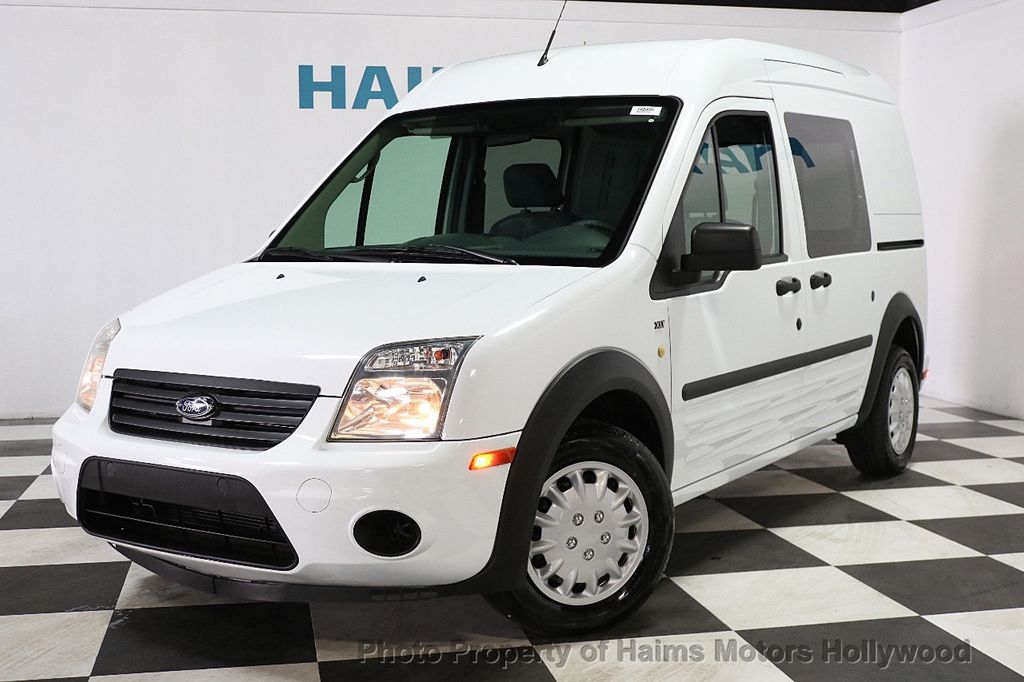 """2013 Ford Transit Connect 114.6"""" XLT w/side & rear door privacy glass - 17802206 - 1"""