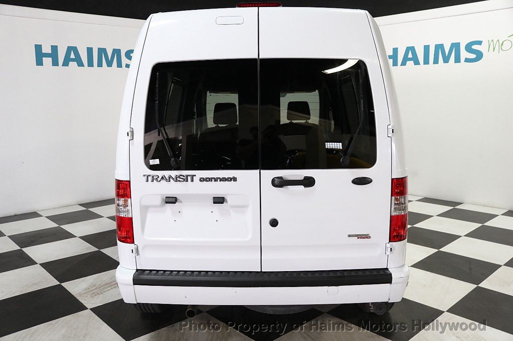 "2013 Ford Transit Connect 114.6"" XLT w/side & rear door privacy glass - 17802206 - 5"