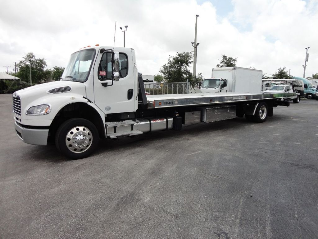 2013 Freightliner BUSINESS CLASS M2 106 CENTURY 3 - CAR CARRIER.. 30FT ALUMINUM DECK. - 17720215 - 10