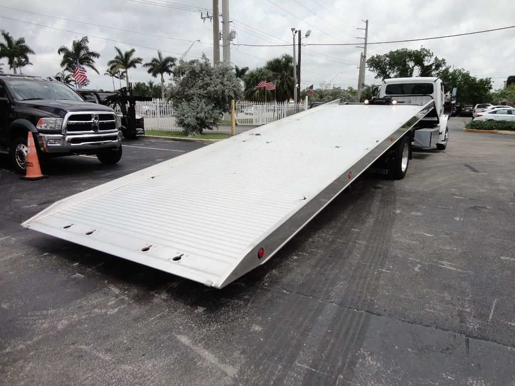 2013 Freightliner BUSINESS CLASS M2 106 CENTURY 3 - CAR CARRIER.. 30FT ALUMINUM DECK. - 17720215 - 14